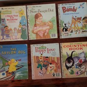 Little Golden Books Mickey Mouse Children
